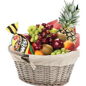 Norway flowers  -  Do the Fruit Twist Baskets Delivery