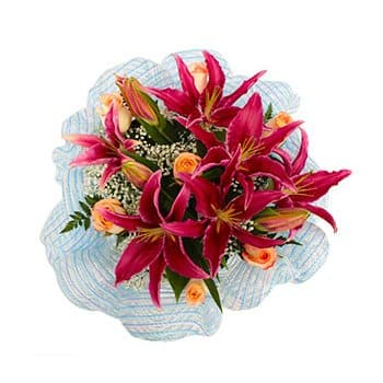 British Virgin Islands online Florist - Dragons Treasure Bouquet