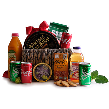 Greenland online Florist - Drinks and Snacks Galore Bouquet