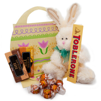 Milan flowers  -  Easter Favorites Baskets Delivery