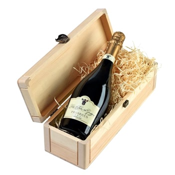 Leeds, United Kingdom flowers  -  Elegant Prosecco Baskets Delivery