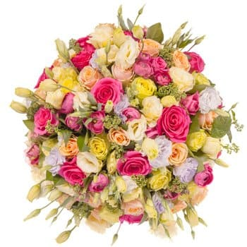 Bordeaux flowers  -  Embrace Love Flower Delivery