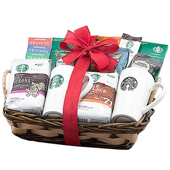 Houston flowers  -  Everything But the Barista Baskets Delivery