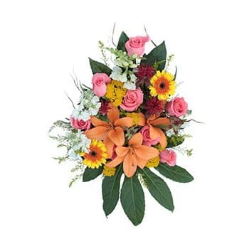 Martinique online Florist - Exotic Passions Bouquet