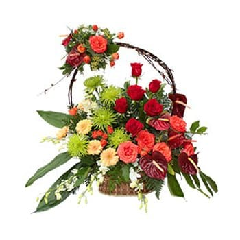Hungary flowers  -  Extraordinary Devotion Baskets Delivery