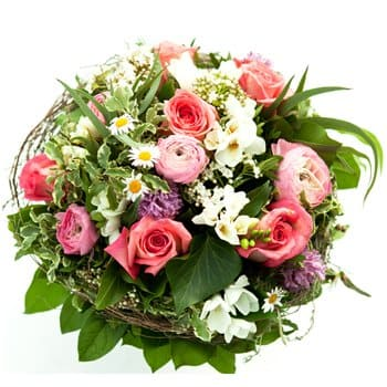 Bordeaux flowers  -  Fairy Garden Flower Delivery