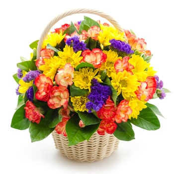 Moscow flowers  -  Fancy Floral Baskets Delivery