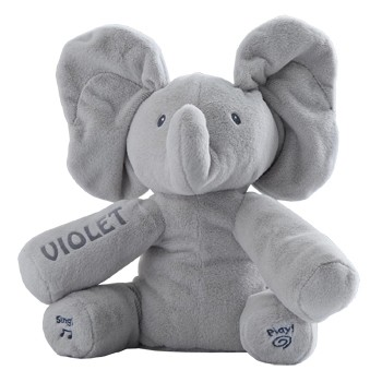 flores Playa Virginia floristeria -  Flappy the Elephant de GUND Cestas con entrega a domicilio
