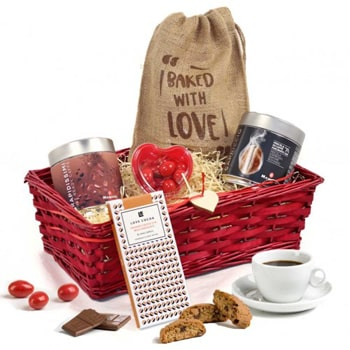 Leeds, United Kingdom flowers  -  For Your Favorite Coffee Lover Baskets Delivery