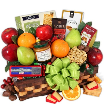 Los Angeles flowers  -  Fruit Profusion Gift Basket Baskets Delivery