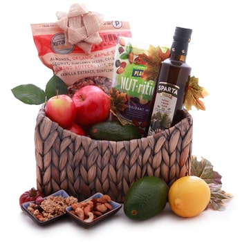 Norway flowers  -  Fruits and Nuts Baskets Delivery