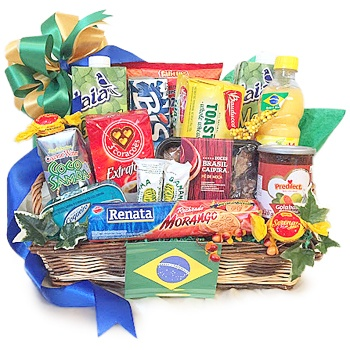 Detroit flowers  -  Fruits of Brazil Baskets Delivery
