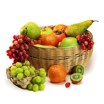Nizhny Novgorod flowers  -  Fruity Surprise Baskets Delivery