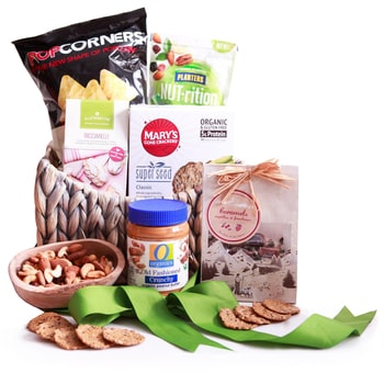 Norway flowers  -  Gluten Free Celebration Baskets Delivery