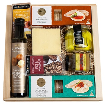 Minneapolis flowers  -  Gourmet in Australia Gift Pack Baskets Delivery