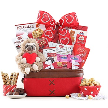 Las Vegas flowers  -  Grown Up Valentine Baskets Delivery