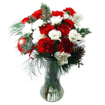 Norwegia bunga- Holiday Buds Bouquet Bunga Pengiriman