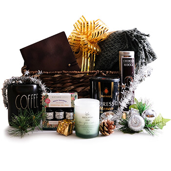 Oslo, Norway flowers  -  Holiday Delight Gift Set Baskets Delivery