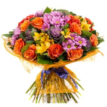 Riga flowers  -  I Missed You Baskets Delivery
