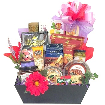Los Angeles flowers  -  Iftars Delights Baskets Delivery