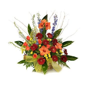 Faroe Islands online Florist - Igniting Passions Bouquet