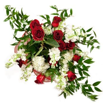Al Azraq ash Shamālī flowers  -  Love and Light Bouquet Flower Delivery