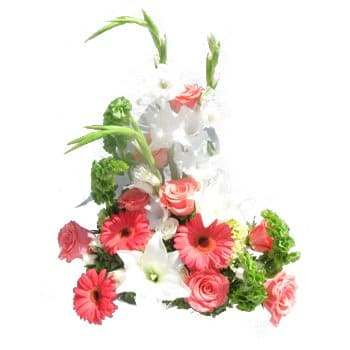 Gros flowers  -  Paradise in Pastel Bouquet Flower Delivery