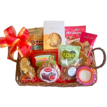 Houston flowers  -  Invigorating Treats Baskets Delivery