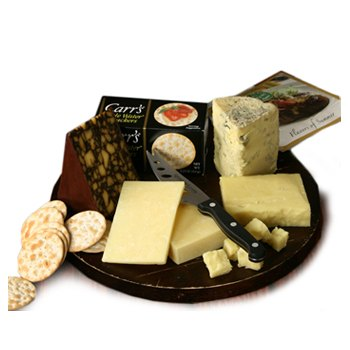 Los Angeles flowers  -  Irish Cheese Treats Baskets Delivery