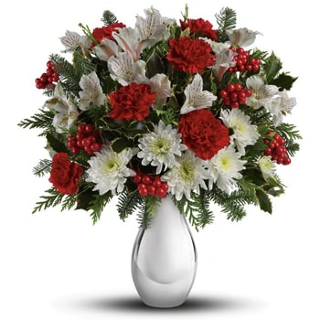 Norway flowers  -  Love Full in Bloom Bouquet Baskets Delivery