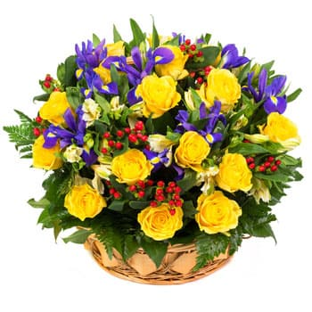San Buenaventura flowers  -  Lullaby Flower Delivery