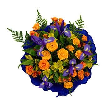 Bordeaux flowers  -  Magnetic Flower Delivery