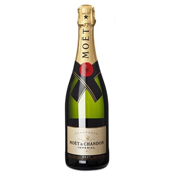 Санкт-Петербург цветя- Moet Chandon Brut Imperial Цвете Доставка