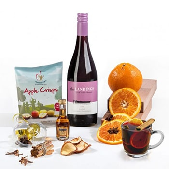 Bradford flowers  -  Mulled Wine Kit for the Holidays Flower Delivery