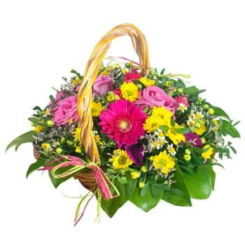 Riga flowers  -  Mystic Beauty Baskets Delivery