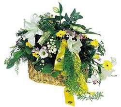 British Virgin Islands online Florist - Orient Basket Bouquet