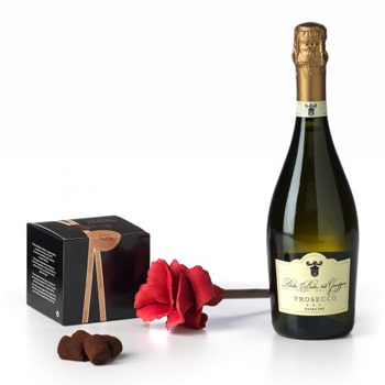 Sheffield flowers  -  Passion for Prosecco Flower Delivery