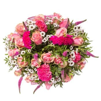 British Virgin Islands online Florist - Pink of Perfection Bouquet