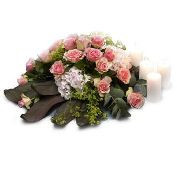 Norway flowers  -  Pink Paradise Baskets Delivery