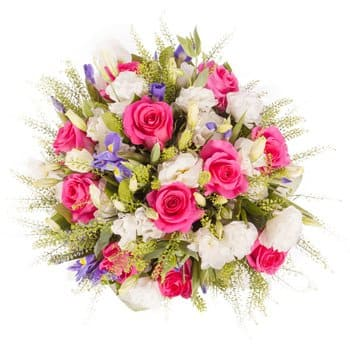 Norway flowers  -  Princess Pink Baskets Delivery