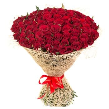 Pau online Florist - Regal Roses Bouquet