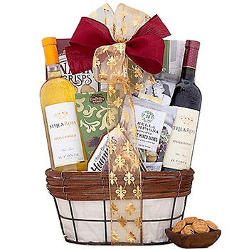 Washington flowers  -  Reservation for Two Baskets Delivery