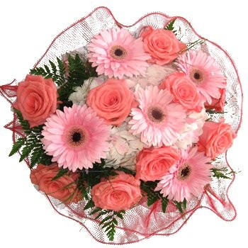 flowers  -  Special Someone Bouquet Baskets Delivery
