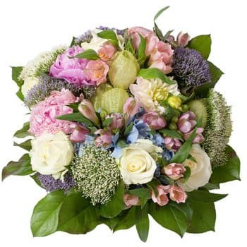 Bordeaux flowers  -  Romantic Bouquet Flower Delivery