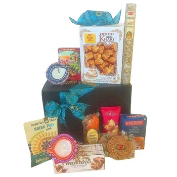 Houston flowers  -  Savory Diwali Baskets Delivery