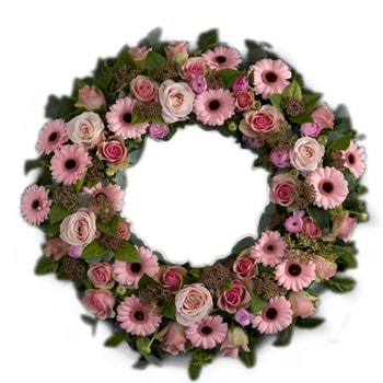 Oslo flowers  -  Seasonal Wreath Flower Bouquet/Arrangement