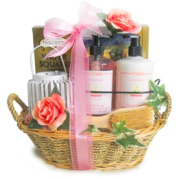 Los Angeles flowers  -  Sensational Spring Spa Baskets Delivery