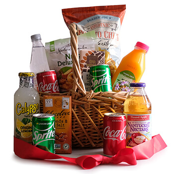 Norway flowers  -  Snack Pack Delight Baskets Delivery