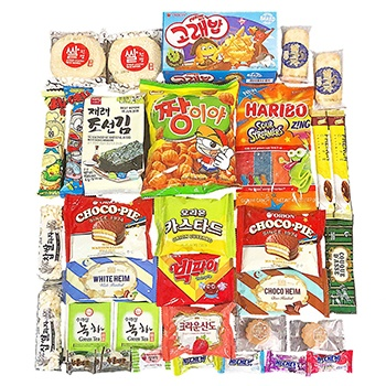 Los Angeles blomster- Snacks Of Korea kurver Levering