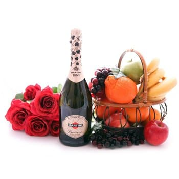 British Virgin Islands online Florist - Sparkling Surprise Bouquet